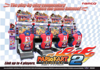 Mario Kart Arcade GP 2 flyer.png