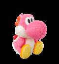 Pink Yarn Yoshi amiibo (YWW).png