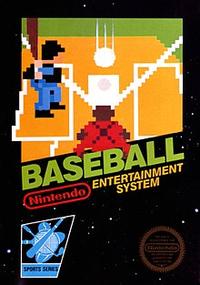 Baseball North American NES Front Box Art.png